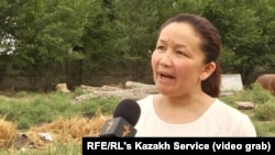 "FILE: Sairagul Sauytbay, an ethnic Kazakh from China's northwestern region of Xinjiang was one of the first victims to speak publicly about China's ""repressive campaign against Muslims."