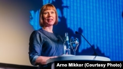 Estoniya prezidenti Kersti Kaljulaid. Foto: Arno Mikkor