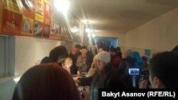Бишкек. №1136 добуш берүү бекети