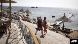 Мисырның Шарм әш-Шәех курортына ял итәргә килгән туристлар