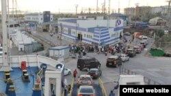 Керченська поромна переправа (фото з сайту Transdir.ru)