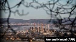 """Termocentrali në Obiliq, ku pritet të ndërtohet edhe termocentrali i ri """"Kosova e Re"""", që vlerësohet se është një ndër investimet më të mëdha të huaja në Kosovë."""