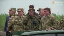 Турчинов випробував витривалість оборонних споруд