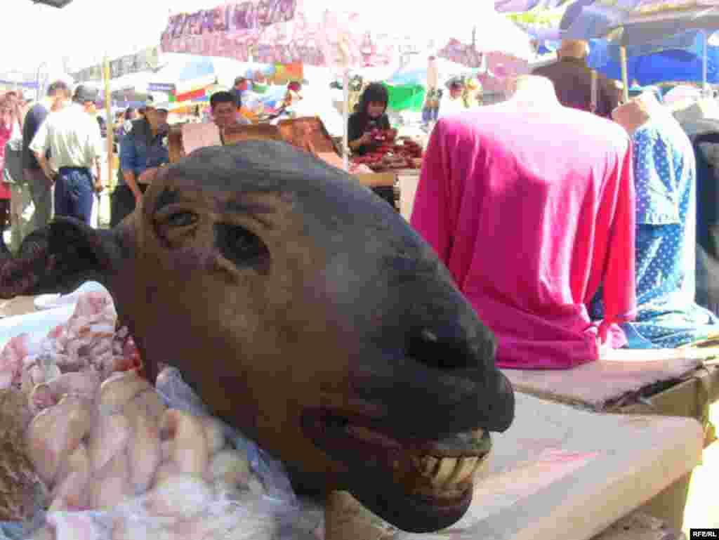 Акыр-чикирден арылбаган Ош базары #12