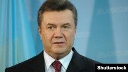 Presidenti i Ukrainës, Viktor Yanukovych.