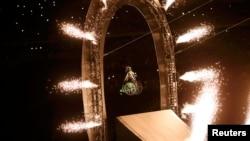 На открытии Паралимпиады в Рио