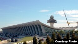 U.S. - Dulles International Airport in Washington, undated
