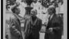 Emil Cioran, Eugene Ionescu și Mircea Eliade la Paris în 1986 (Photo: Louis Monier)