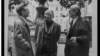 Emil Cioran, Eugen Ionescu și Mircea Eliade la Paris în 1986 (Photo: Louis Monier).