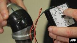 Части самодельной бомбы, которую изготавливал Хосе Пиментель