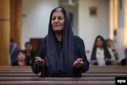 иракская беженка-христианка