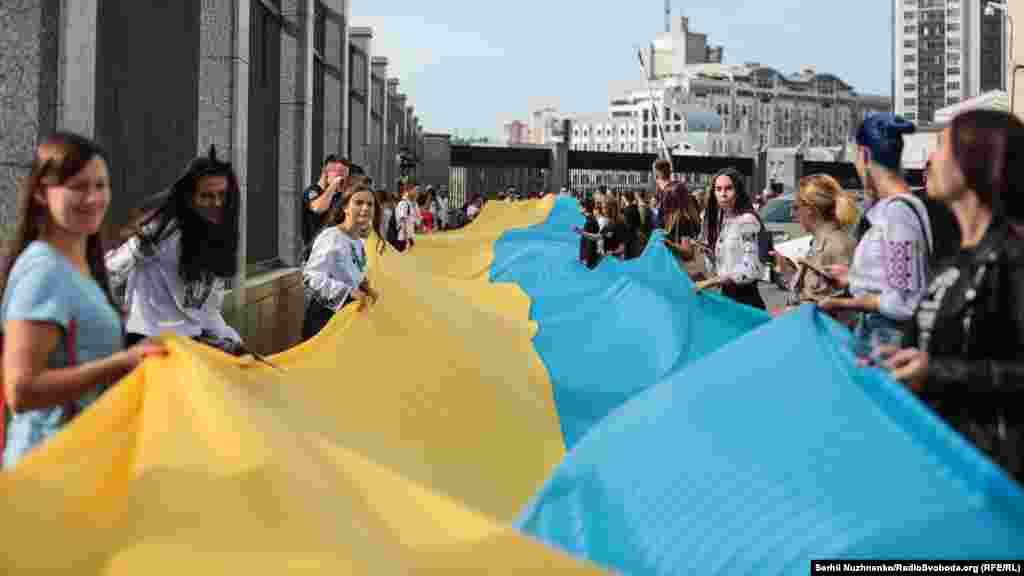 Свою ходу учасники акції почали з вулиці Еспланадної, далі вони пройшли центральними вулицями Києва. Марш закінчився біля Офісу президента на Банковій