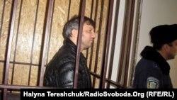 Андрій Слюсарчук під час засідання Галицького райсуду Львова, 17 листопада 2011 року