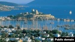 Виды Бодрума - курортного региона в Турции.