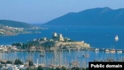 Вид на турецкий курорт Бодрум