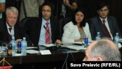 Predstavnici Evropske komisije u pregovorima sa zvaničnicima Crne Gore, juli 2011