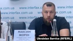 Керівник штабу «Нацкорпусу» Максим Жорін