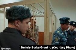 Денис Луцкевич в суде