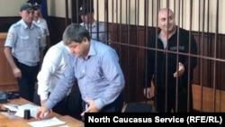 Судебное заседание по делу Мусы Мусаева (архив)