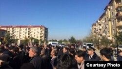 Ağcabədidə aksiya.