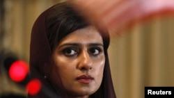Pakistani Foreign Minister Hina Rabbani Khar