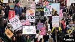 Բողոքի ցույց Վաշինգտոնում, 20-ը հունվարի, 2017 թ․