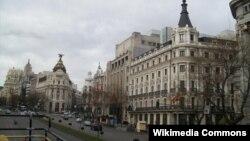 Տեսարան Իսպանիայի մայրաքաղաք Մադրիդից