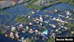 Наводнение в Нефтеюганске в июне 2015 года