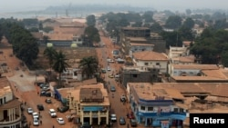 Merkezi Afrika Respublikasynyň paýgatty Bangui.