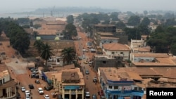 Борбордук Африка Республикасынын борбору Бангу шаары.