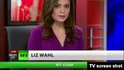 Лиз Валь, уволившаяся с Russia Today в знак протеста против российской пропаганды