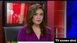 Журналистка Лиз Уол в прямом эфире объявила об уходе с российского пропагандистского телеканала