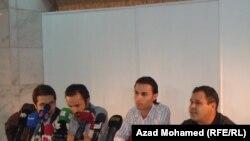 عدد من مؤسسي حملة دعم الثورة السورية
