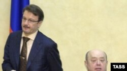 Михаил Фрадков поблагодарил Германа Грефа за работу «авансом»