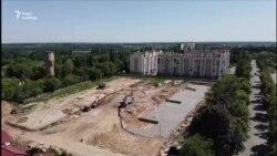Гідрогеологічну станцію «Феофанія» поспіхом забудовують (відео з дрону)