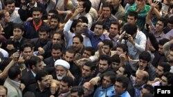 საპროტესტო გამოსვლა ირანში