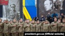 Присяга на вірність Україні вихованців ліцею імені Івана Богуна, 14 жовтня, 2017, Київ