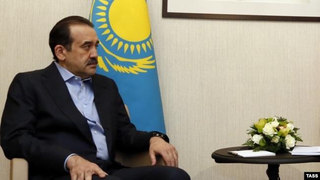 Карим Масимов в бытность премьер-министром.