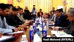 اجتماع لاحدى منظمات المجتمع المدني