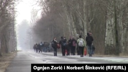 Migranti sa Kosova u Asothalomu