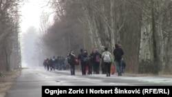 Azilkërkues kosovarë në Hungari...