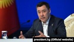 Kyrgyz acting President Sadyr Japarov (file photo)