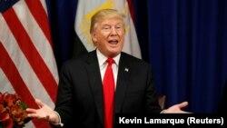 Дональд Трамп, 20 верасьня 2017