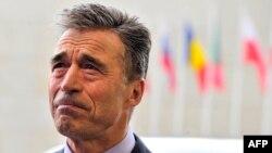 Генералниот секретар на НАТО, Андрес Фог Расмусен.