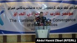 من إفتتاح مؤتمر تقارب العشائر في العراق