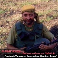 Володимир Семенович на фронті