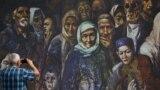 Плакат, приуроченный ко Дню памяти жертв депортации крымских татар