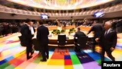 Еуропа елдері басшылары ЕО саммитінде. Брюссель, 10 наурыз 2017 жыл.