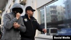 Один из задержанных в Анталии граждан России, фото bizimantalya.com