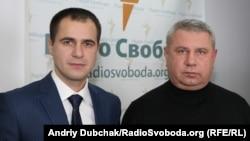 Депутати від «Блоку Петра Порошенка» Богдан Матківський (праворуч) та Андрій Антонищак